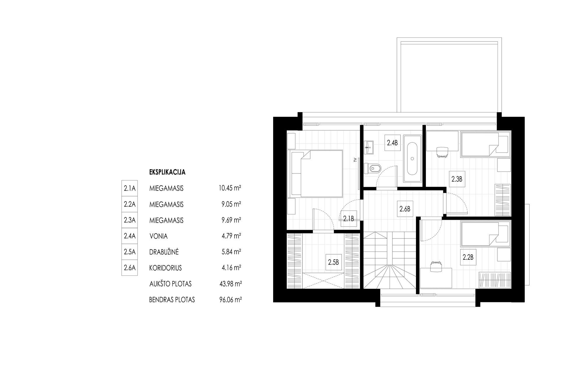 kubinis-metras_balti-balti-namai_kvartalas_2a-planas