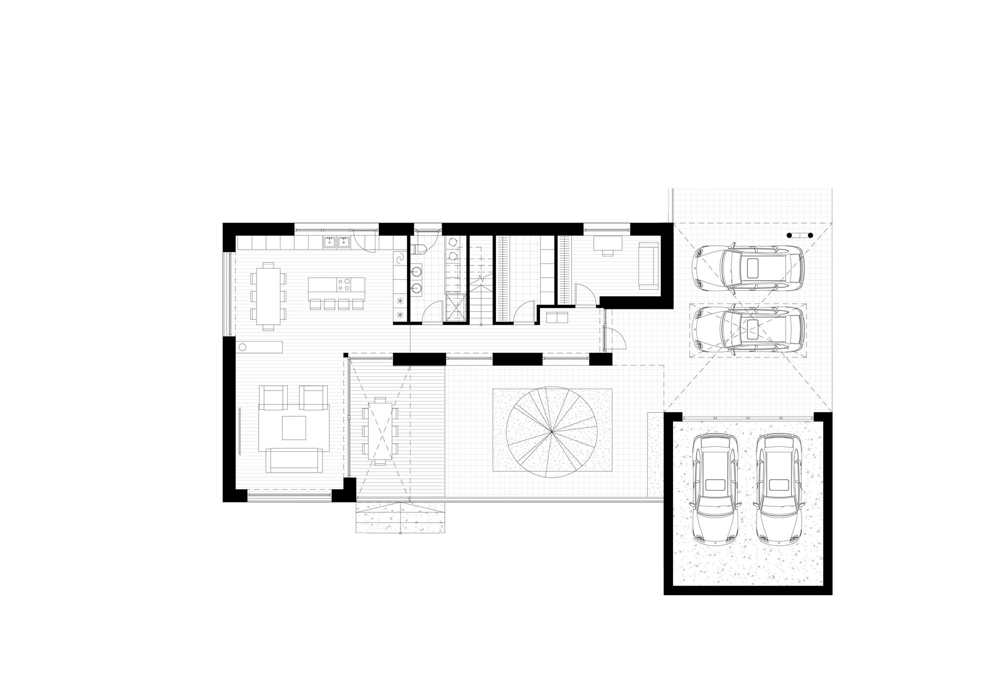 Kubinis-metras_Miesto-namas_1A-planas